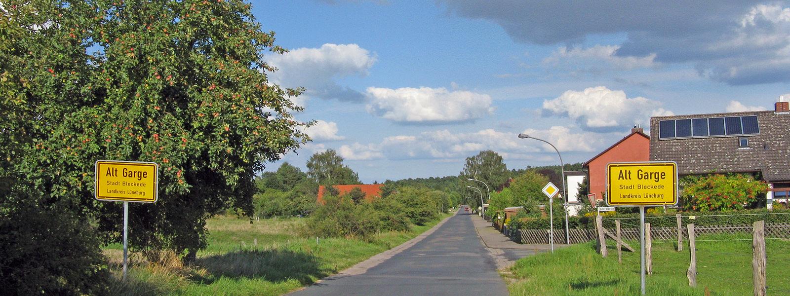 Alt Garge Ortsteil von Bleckede im Landkreis Lüneburg