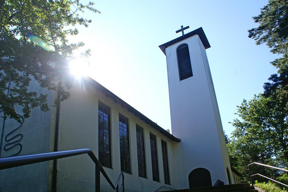 Erlöserkirche mit Otto Flath Altar in Alt Garge