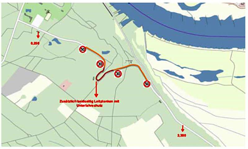Idee zur Umsetzung Verkehrsberuhigung an der Spitzkehre in Alt Garge