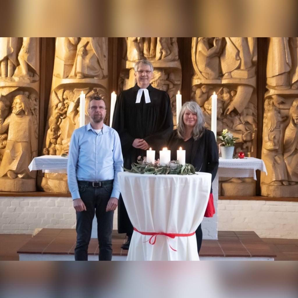 Weihnachtsgruß aus der Erlöserkirche in Alt Garge 2020